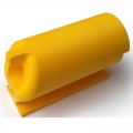 HANDLE ECCENTRIC YELLOW 3D # Armwrestling Shop # Armpower.net