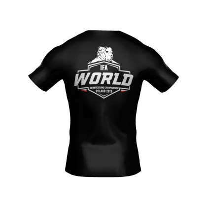 T-shirt World Championships IFA 2019 # Armwrestling Shop # Armpower.net