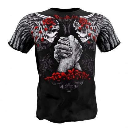 "T-shirt ""Rose Petals"" - Rigid Rules # Armwrestling Shop # Armpower.net"
