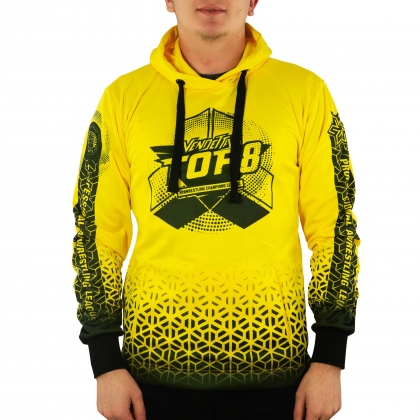 Sweatshirt Vendetta Top 8- yellow # Armwrestling Shop # Armpower.net