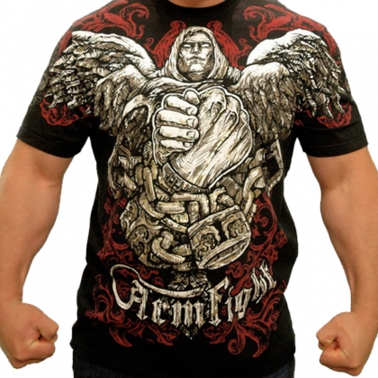 MONK T-SHIRT by ARMFIGHT BRAND # Armwrestling Shop # Armpower.net