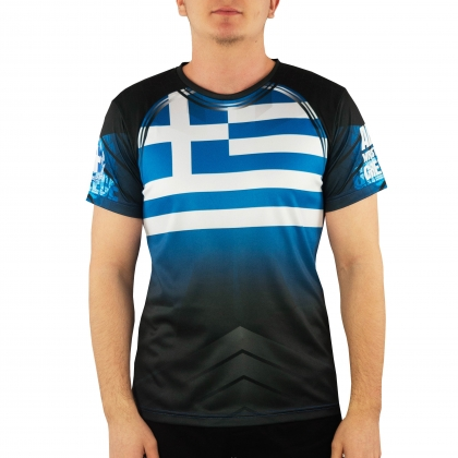 Team Greece -  t-shirt # Armwrestling Shop # Armpower.net