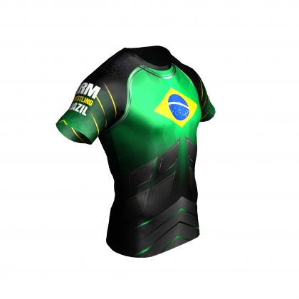 Team Brazil- t-shirt # Armwrestling Shop # Armpower.net