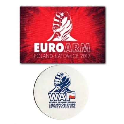 Magnets from the championships- 2 pieces # Armwrestling Shop # Armpower.net