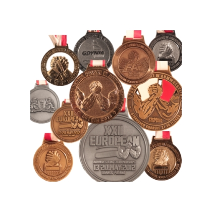 MEDALS – made to order # Armwrestling Shop # Armpower.net