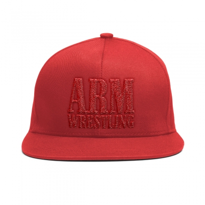 BASEBALL CAP - RED # Armwrestling Shop # Armpower.net