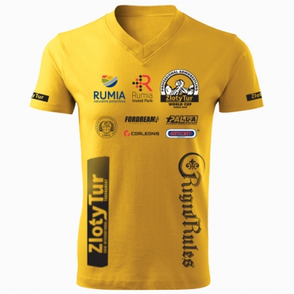 ZLOTY TUR WORLD CUP 2018 T-SHIRT- yellow # Armwrestling Shop # Armpower.net