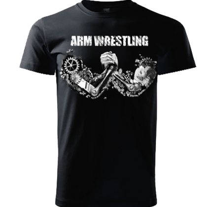 T-shirt ROBOTICS # Armwrestling Shop # Armpower.net