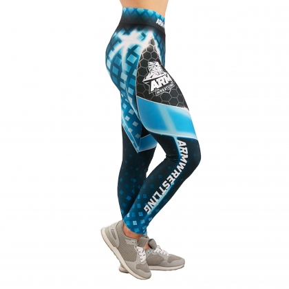 ARMWRESTLING LEGGINS - blue # Armwrestling Shop # Armpower.net