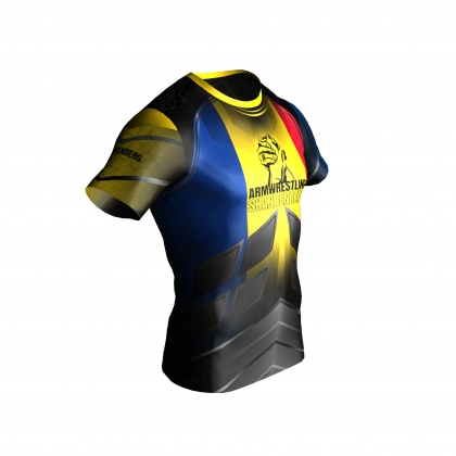 Team Romania -  t-shirt # Armwrestling Shop # Armpower.net