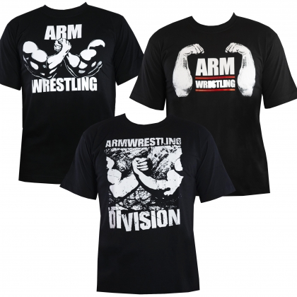 Promotion - set of 3 tshirt # Armwrestling Shop # Armpower.net
