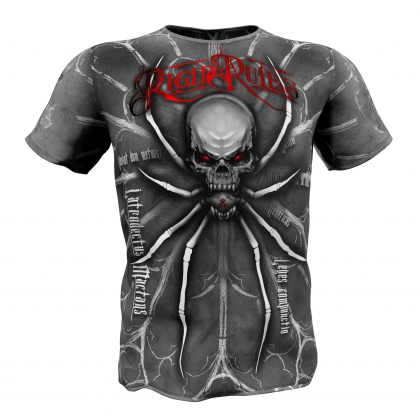 "T-shirt ""SPIDER"" Rigid Rules # Armwrestling Shop # Armpower.net"