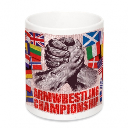 ARMWRESTLING CHAMPIONSHIP MUG # Armwrestling Shop # Armpower.net