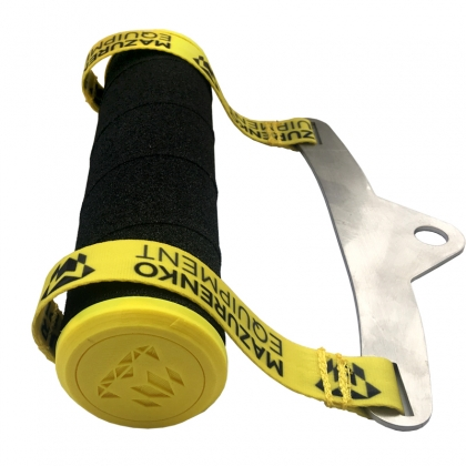 HANDLE FOR WINDING ON TAPES - yellow # Armwrestling Shop # Armpower.net