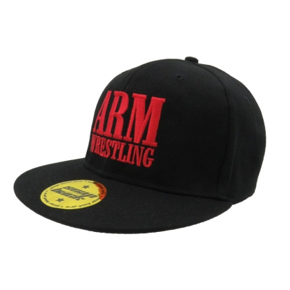 BASEBALL CAP - black # Armwrestling Shop # Armpower.net