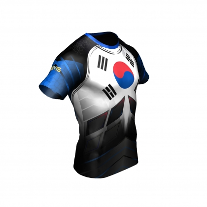 Team Korea- t-shirt # Armwrestling Shop # Armpower.net