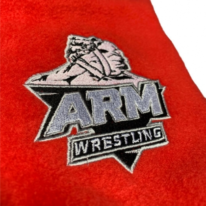 Warming sleeve ARMWRESTLING- red # Armwrestling Shop # Armpower.net