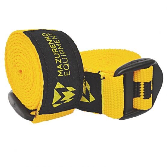 ARMWRESTLING REFEREE'S STRAP - yellow # Armfight.eu