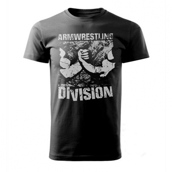 ARMWRESTLING DIVISION - black # Armfight.eu