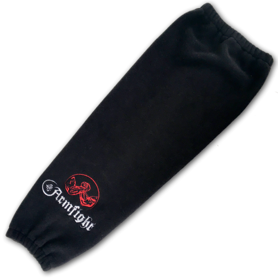 Warming sleeve Armfight, black # Armfight.eu