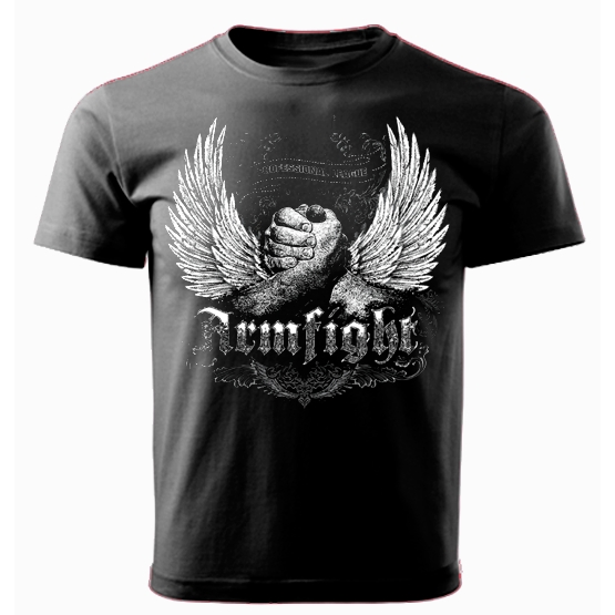 T-shirt ARMFIGHT WINGS black # Armfight.eu
