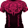ARMFIGHT RASHGUARD pink # Armwrestling Shop # Armpower.net