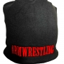 WINTER CAP -black/red # Armwrestling Shop # Armpower.net
