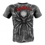 "T-shirt ""SPIDER"" Rigid Rules blue # Armwrestling Shop # Armpower.net"