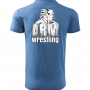 ARMWRESTLING POLO T-shirt - blue. # Armwrestling Shop # Armpower.net