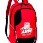 Sports backpack ARMWRESTLING - RED # Armwrestling Shop # Armpower.net