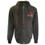 Fleece with embroidery - dark gray # Armwrestling Shop # Armpower.net