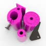 PINK SET OF THE TRAINING HANDLES # Armwrestling Shop # Armpower.net