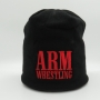 WINTER CAP ARM -black/red # Armwrestling Shop # Armpower.net