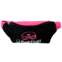 BLACK – PINK WAISTPACK WITH EMBROIDERY # Armwrestling Shop # Armpower.net