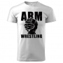 ARMWRESTLING  T-shirt - white # Armwrestling Shop # Armpower.net