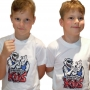 ARMWRESTLING KIDS T-shirt - white # Armwrestling Shop # Armpower.net