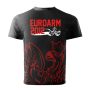 EUROARM 2012 TOURNAMENT T-SHIRT - BLACK # Armwrestling Shop # Armpower.net
